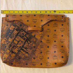 Mcm pouch handbag laptop case